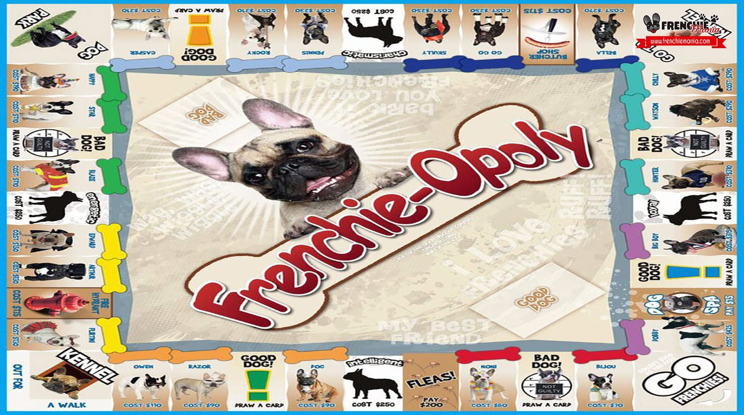 bulldog frances frenchie opoly monopoly