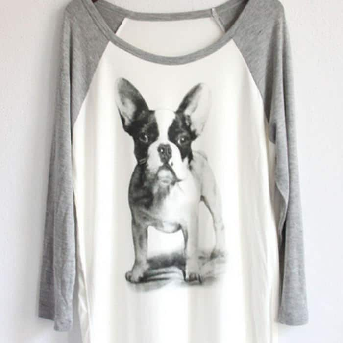 camiseta bulldog frances