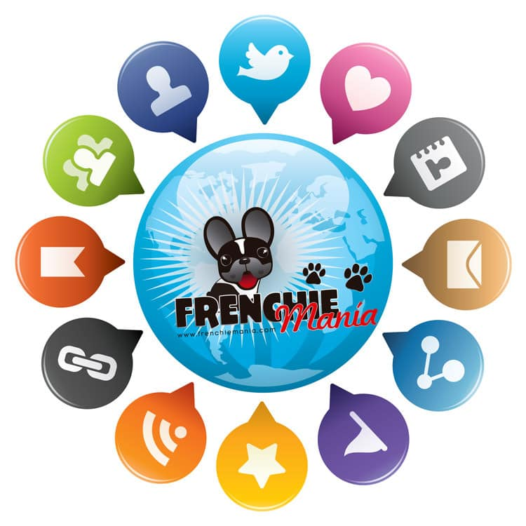 redes sociales frenchiemania