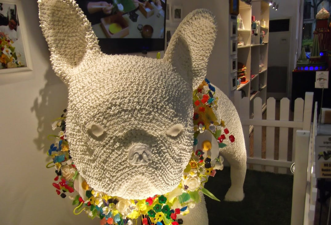 escultura merengue bulldog frances
