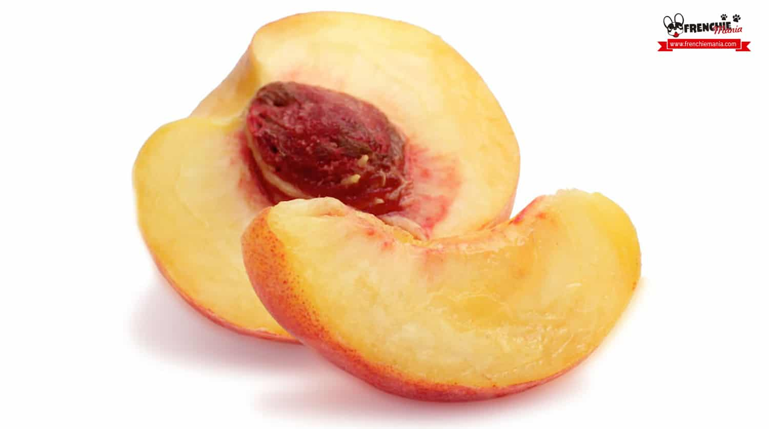 fruits for dogs peach