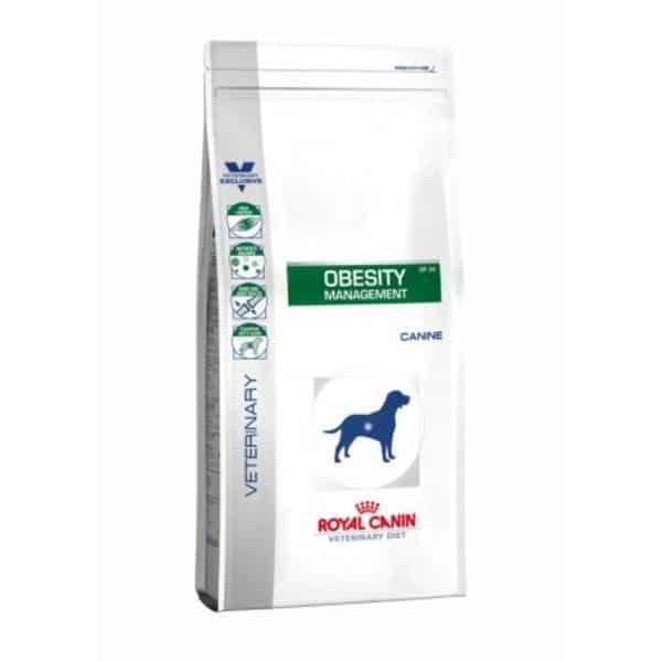 mejores piensos dietecticos obesidad sobrepeso pedida peso perros royal canin diet obesity management DP34