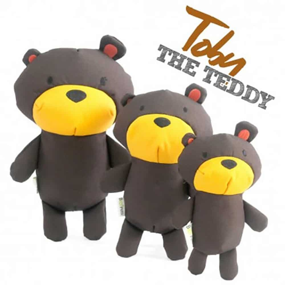 juguete perro peluche toby the teddy beco